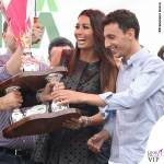 Elisabetta Gregoraci Coppa Sila abito Drome scarpe Christian Louboutin 5