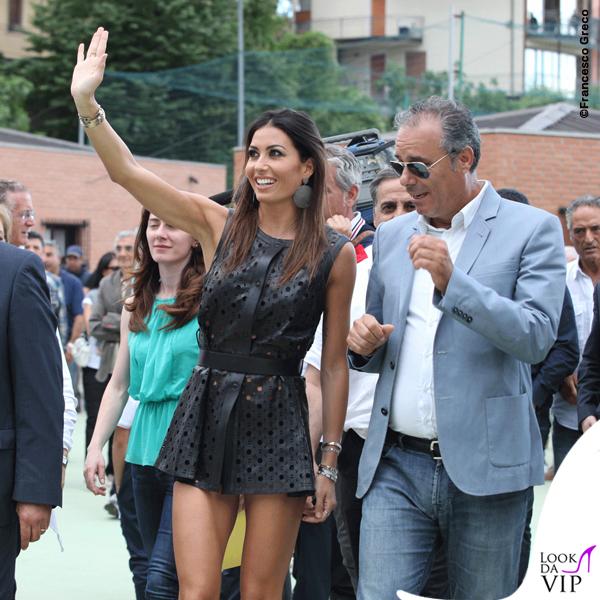 Elisabetta Gregoraci Coppa Sila abito Drome scarpe Christian Louboutin 2