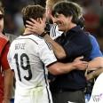 Joachim Loew total Hugo Boss Mario Gotze Mondiali 2014 finale Germania-Argentina Maracana