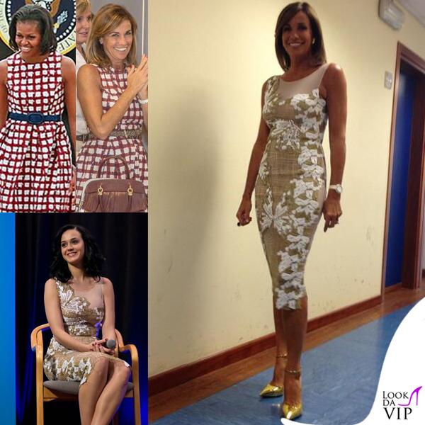 Katy Perry Cristina Parodi abito Blumarine Michelle Obama abito Asos