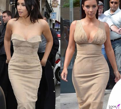 Kim Kardashian abiti Ermanno Scervino primavera estate 2014