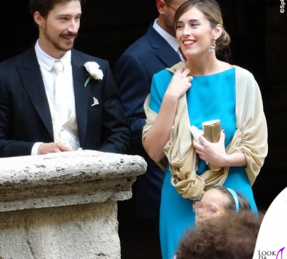 Maria Elena Boschi matrimonio Emanuele Boschi total Gucci 2
