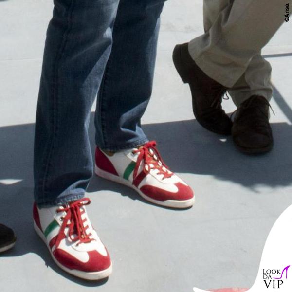 huge discount c5ffe a5385 Matteo Renzi Genova scarpe D'Acquasparta 2 - Look da Vip