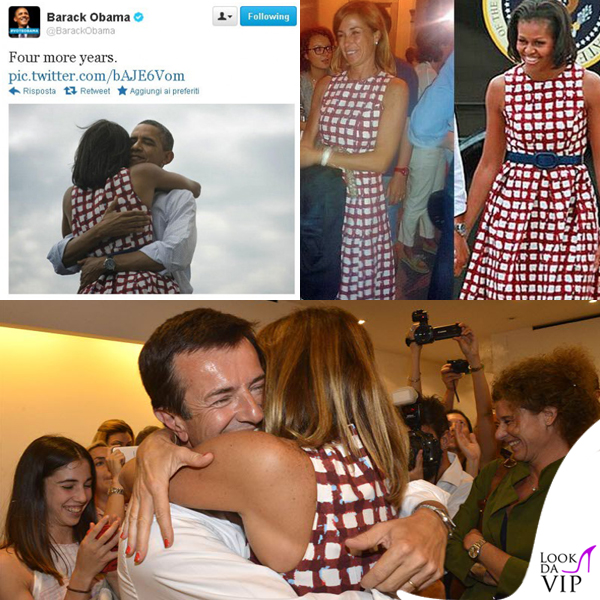 Michelle Obama Cristina Parodi abito Asos