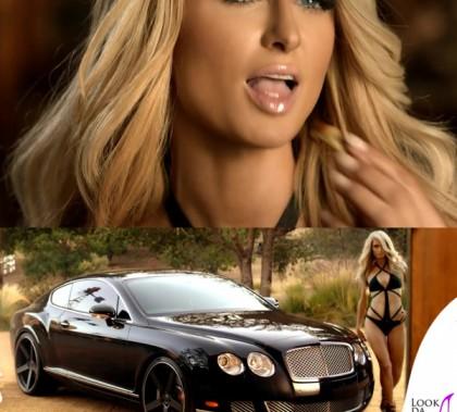 Paris Hilton spot Carl's Jr monokini Agent Provocateur
