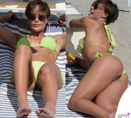 Roberta Giarrusso Paparazzi bikini Pin Up Stars occhiali Miu Miu