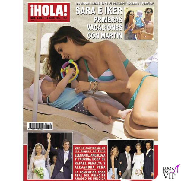 Sara Carbonero cover Hola! bikini Calzedonia 2