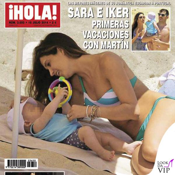 Sara Carbonero cover Hola! bikini Calzedonia