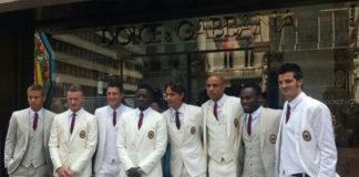 Milan divise Dolce e Gabbana
