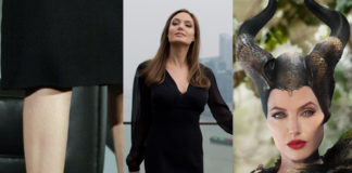 Angelina Jolie Maleficent scarpe Christian Louboutin