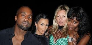 Compleanno Riccardo Tisci Kanie West Kim Kardashian Kate Moss abito Marc Jacobs Naomi Campbell