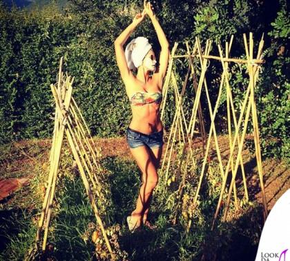 Elena Santarelli bikini F--K
