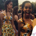 Malia Obama Chicago Lollapalooza Music Festival top gonna American Apparel