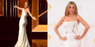 Sofia Vergara Emmy Awards abito Roberto Cavalli gioielli Lorraine Schwartz