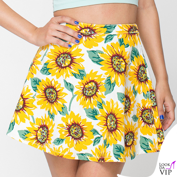 gonna American Apparel sunflowers