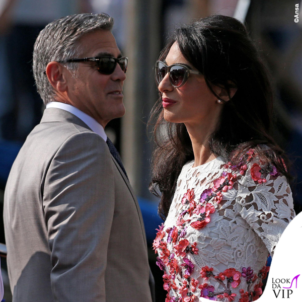 Amal Alamuddin abito Giambattista Valli Couture George Clooney Venezia Clooney Wedding 4