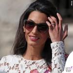 Amal Alamuddin abito Giambattista Valli Couture George Clooney Venezia Clooney Wedding 5