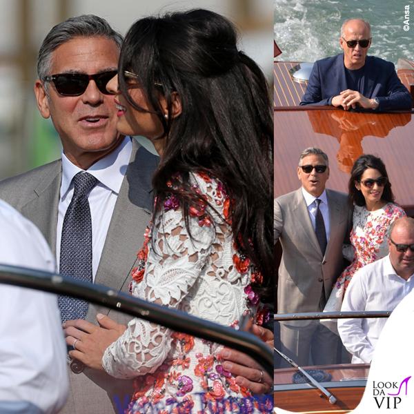 Amal Alamuddin abito Giambattista Valli Couture George Clooney Venezia Clooney Wedding 6