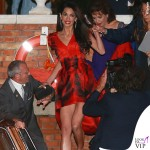 Amal Alamuddin vestito Alexander McQueen Venezia Clooney Wedding