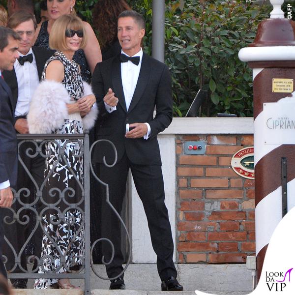 Anna Wintour Venezia Clooney Wedding 2