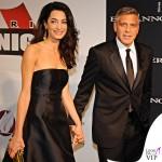 Celebrity Fight Night Firenze Amal Alamuddin abito Dolce e Gabbana George Clooney 2