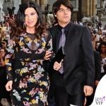 Celebrity Fight Night Firenze Laura Pausini abito Ermanno Scervino Paolo Carta 2