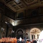 Celebrity Fight Night Firenze Palazzo Vecchio Salone dei Cinquecento Andrea Bocelli