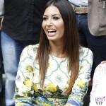 Elisabetta Gregoraci Made in Sud abito Dolce e Gabbana bracciali Cartier 2