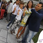 Elisabetta Gregoraci Made in Sud abito Dolce e Gabbana bracciali Cartier 4