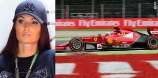 GP Monza Kimi Raikkonen Minttu Virtanen felpa Kenzo cappellino NY