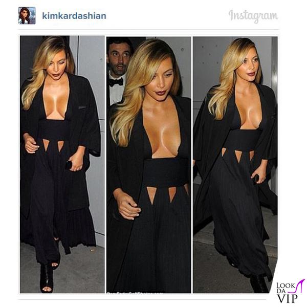 Kim Kardashian sfilata Givenchy SS 14