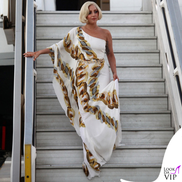 Lady Gaga abito Roberto Cavalli 4