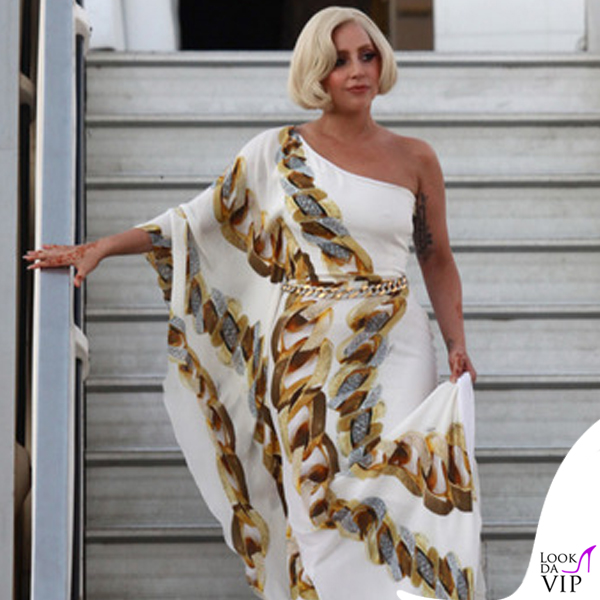 Lady Gaga abito Roberto Cavalli 5