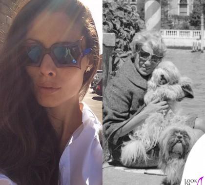 Marica Pellegrinelli occhiali Safilo The Peggy Guggenheim Collection orecchini Rossella Catapano Peggy Guggenheim