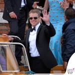 Matt Damon Venezia Clooney Wedding 2