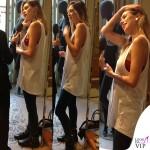 Melissa Satta MFW borsa Celine scarpe Saint Laurent 3