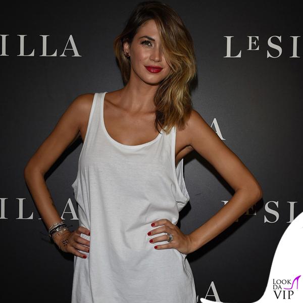 Melissa Satta MFW borsa Celine scarpe Saint Laurent 4