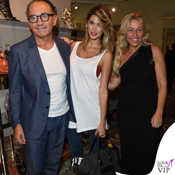 Melissa Satta MFW borsa Celine scarpe Saint Laurent 5