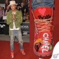 Pharrell Williams GQ Men of the Year Awards anfibi Timberland Bee Line