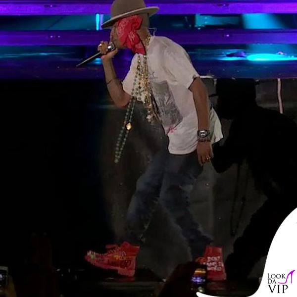 Pharrell Williams anfibi Timberland Bee Line