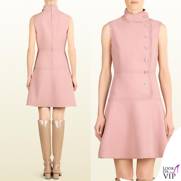 save off 2259f 6e368 abito Gucci rosa confetto - Look da Vip
