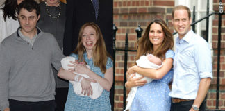 Chelsea Clinton Marc Charlotte Kate Middleton William George