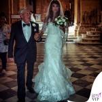 Elisabetta Canalis abito Alessandro Angelozzi Cesare Canalis matrimonio Alghero