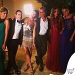 Elisabetta Canalis abito Eva Cavalli Brian Perri Maddalena Corvaglia Belen Rodriguez matrimonio Alghero