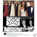 George Clooney Amal Alamuddin Wedding da Twitter 2