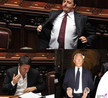 Matteo Renzi cravatta Giorgio Armani (0a)