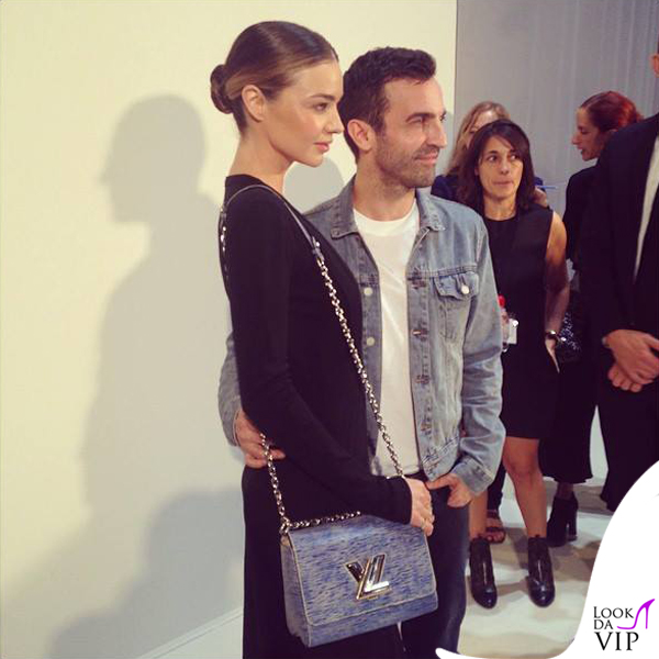 Miranda Kerr total Louis Vuitton Nicolas Ghesquière PFW