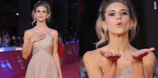 Nicoletta Romanoff Roma Film Festival abito Armani