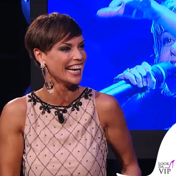 Roberta Giarrusso Tale e Quale Show abito Mangano orecchini Luxuryfashion Jewels 2
