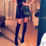 Victoria Silvstedt abito Zara stivali Jimmy Choo 3